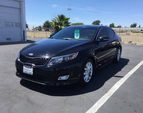 2014 Kia Optima for sale at My Three Sons Auto Sales in Sacramento CA