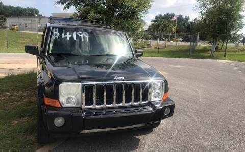 2007 Jeep Commander for sale at Nash's Auto Sales Used Car Dealer in Milton FL