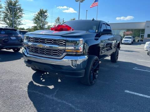 2018 Chevrolet Silverado 1500 for sale at Charlotte Auto Group, Inc in Monroe NC
