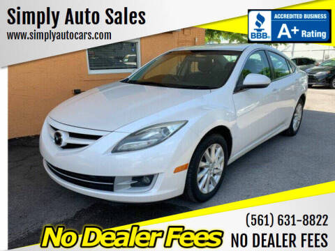 2012 Mazda MAZDA6 for sale at Simply Auto Sales in Palm Beach Gardens FL