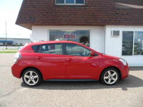 2009 Pontiac Vibe for sale at Paul Oman's Westside Auto Sales in Chippewa Falls WI