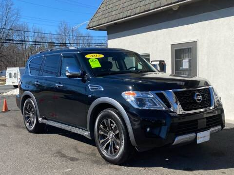 2017 Nissan Armada for sale at Vantage Auto Group in Tinton Falls NJ
