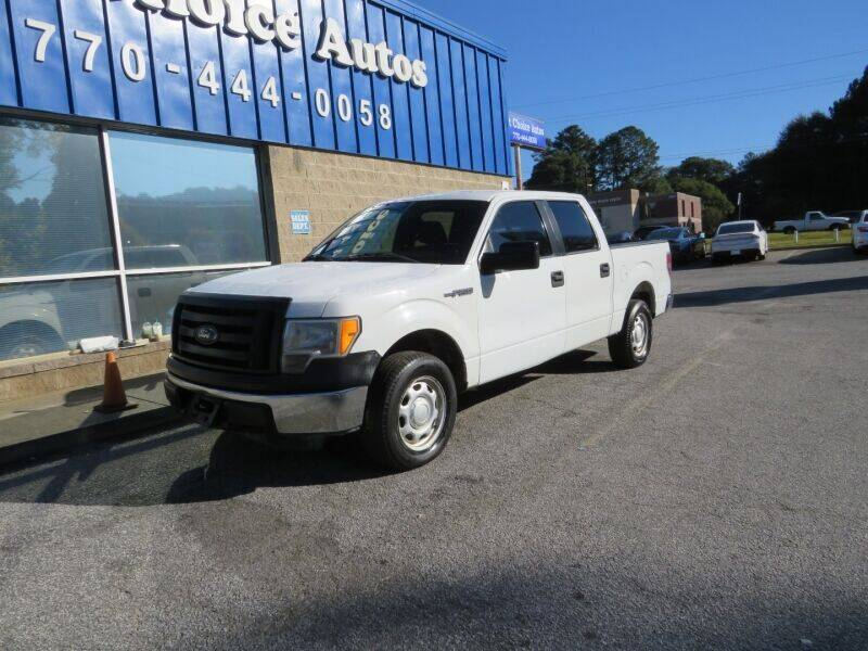 2012 Ford F-150 for sale at Southern Auto Solutions - 1st Choice Autos in Marietta GA