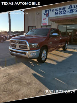 2010 Dodge Ram Pickup 2500 for sale at TEXAS AUTOMOBILE in Houston TX