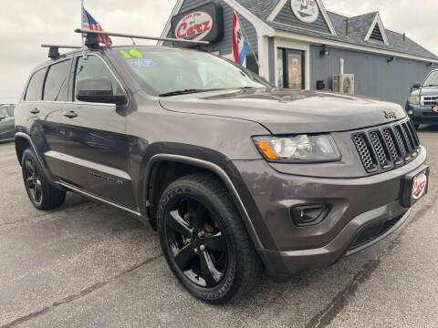 2014 Jeep Grand Cherokee for sale at Cape Cod Carz in Hyannis MA