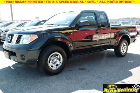 2007 Nissan Frontier for sale at L & S AUTO BROKERS in Fredericksburg VA