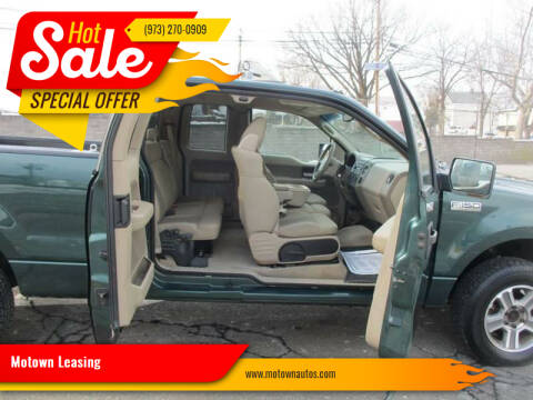 2007 Ford F-150 for sale at Motown Leasing in Morristown NJ