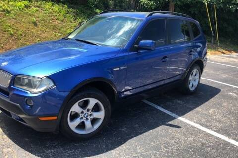 2007 BMW X3 for sale at WEINLE MOTORSPORTS in Cleves OH