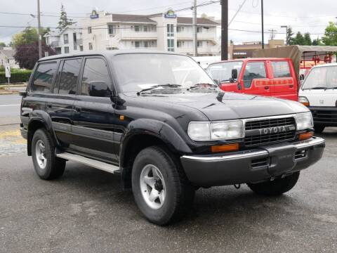 1991 Toyota Land Cruiser for sale at JDM Car & Motorcycle LLC in Seattle WA