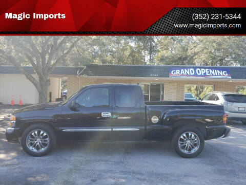 2004 GMC Sierra 1500 for sale at Magic Imports in Melrose FL