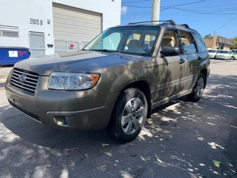 2008 Subaru Forester for sale at YID Auto Sales in Hollywood FL