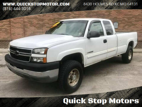2007 Chevrolet Silverado 2500HD Classic for sale at Quick Stop Motors in Kansas City MO