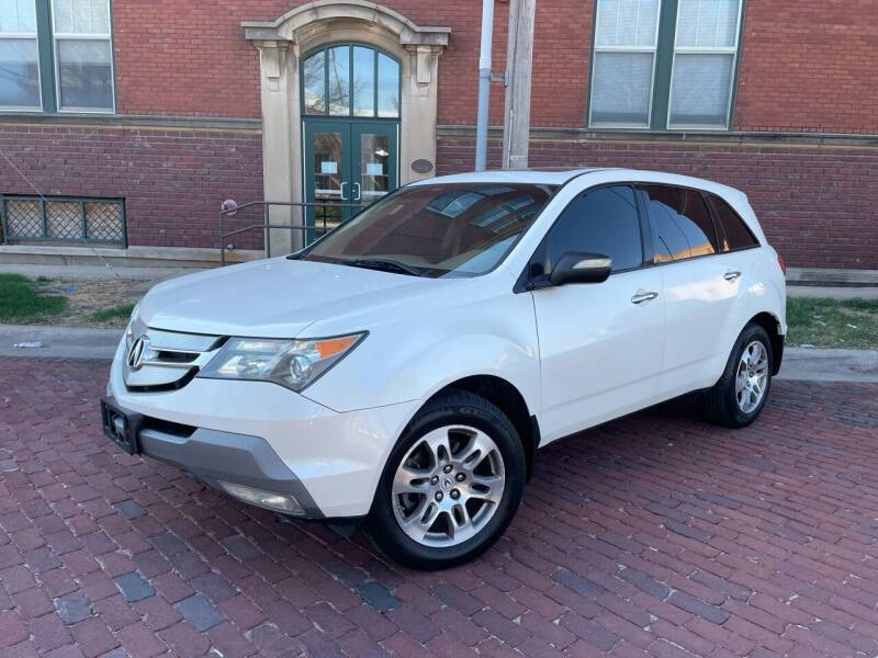 2008 Acura MDX for sale at Euroasian Auto Inc in Wichita KS