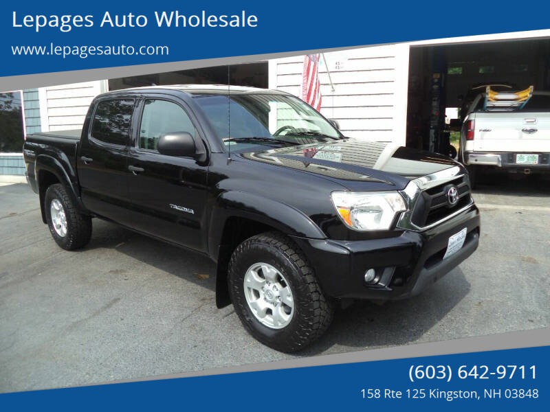 2012 Toyota Tacoma for sale at Lepages Auto Wholesale in Kingston NH