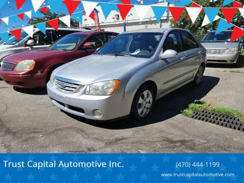 2005 Kia Spectra for sale at Trust Capital Automotive Inc. in Covington GA