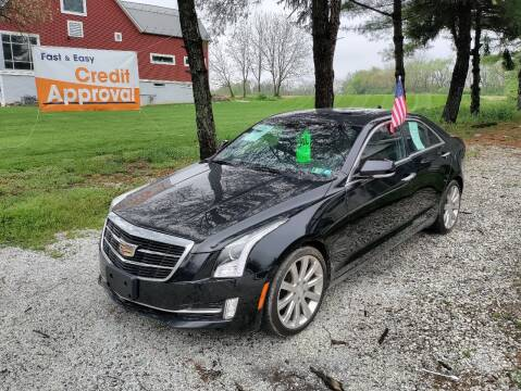 2016 Cadillac ATS for sale at Caulfields Family Auto Sales in Bath PA