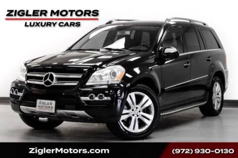2010 Mercedes-Benz GL-Class for sale at Zigler Motors in Addison TX