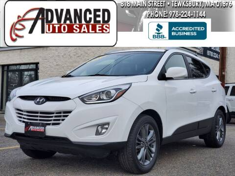 2015 Hyundai Tucson for sale at Advanced Auto Sales in Tewksbury MA