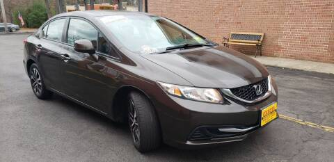 2013 Honda Civic for sale at Exxcel Auto Sales in Ashland MA