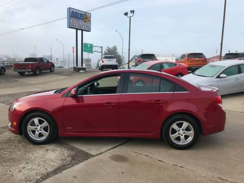 2012 Chevrolet Cruze for sale at DALE'S PREOWNED AUTO SALES INC in Moundsville WV