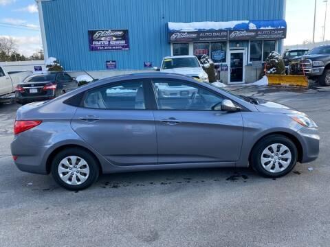 2016 Hyundai Accent for sale at Platinum Auto in Abington MA