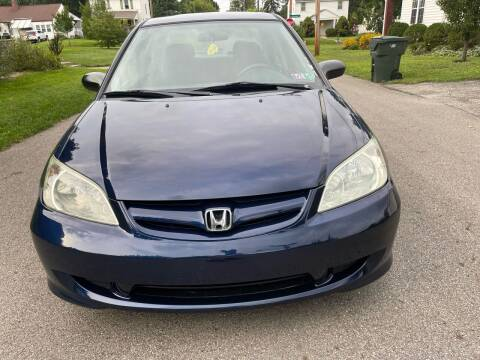 2005 Honda Civic for sale at Via Roma Auto Sales in Columbus OH
