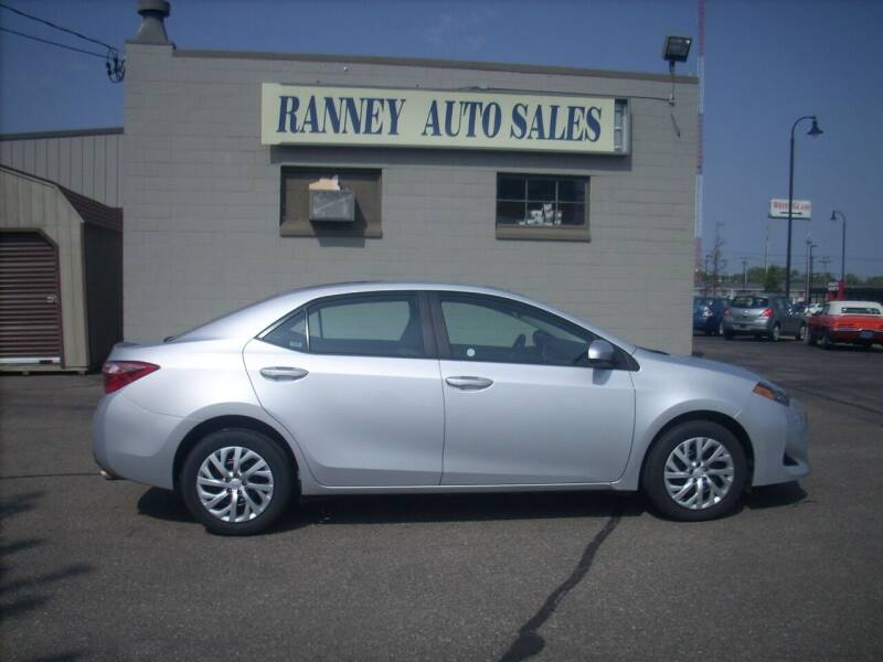 2019 Toyota Corolla for sale at Ranney's Auto Sales in Eau Claire WI