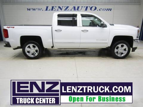 2018 Chevrolet Silverado 1500 for sale at LENZ TRUCK CENTER in Fond Du Lac WI