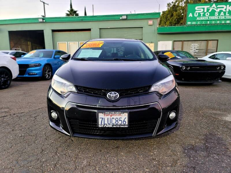 2015 Toyota Corolla for sale at Stark Auto Sales in Modesto CA