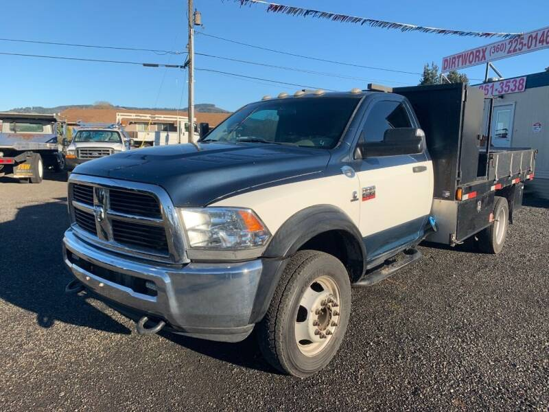 2012 RAM Ram Chassis 4500 for sale at DirtWorx Equipment - Trucks in Woodland WA