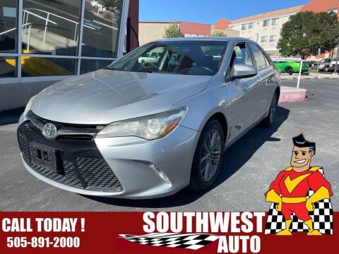 2015 Toyota Camry for sale at SOUTHWEST AUTO in Albuquerque NM