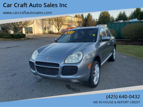 2006 Porsche Cayenne for sale at Car Craft Auto Sales Inc in Lynnwood WA