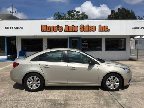 2013 Chevrolet Cruze for sale at Moye's Auto Sales Inc. in Leesburg FL