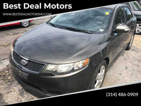 2010 Kia Forte for sale at Best Deal Motors in Saint Charles MO