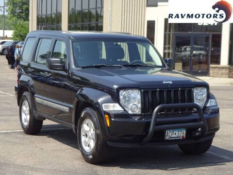 2012 Jeep Liberty for sale at RAVMOTORS 2 in Crystal MN
