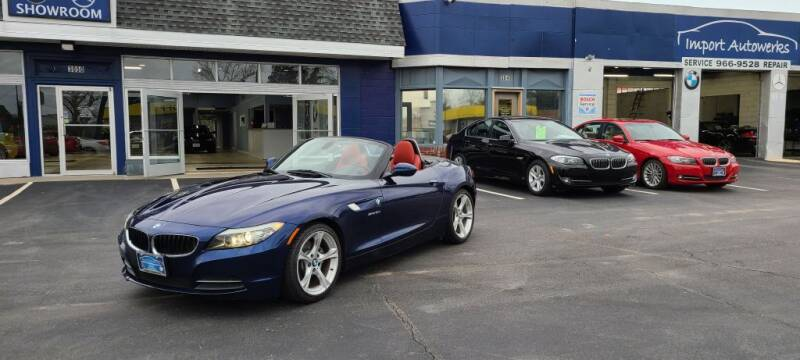 2011 BMW Z4 for sale at Import Autowerks in Portsmouth VA
