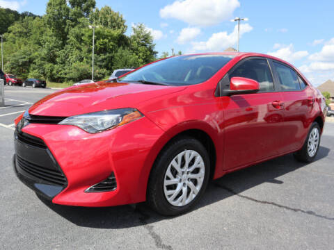 2018 Toyota Corolla for sale at RUSTY WALLACE KIA OF KNOXVILLE in Knoxville TN