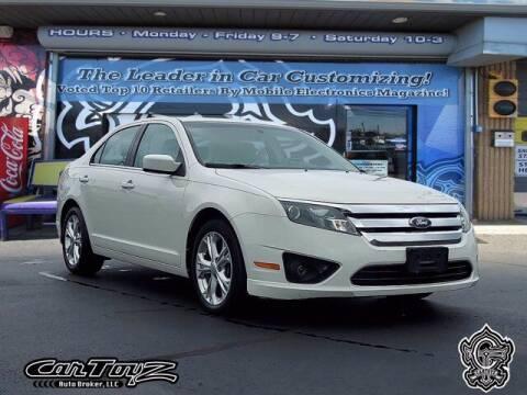 2012 Ford Fusion for sale at Distinctive Car Toyz in Pleasantville NJ