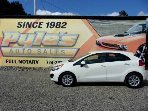 2013 Kia Rio 5-Door for sale at Pyles Auto Sales in Kittanning PA