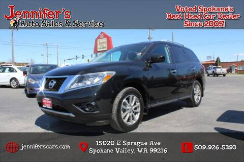2016 Nissan Pathfinder for sale at Jennifer's Auto Sales in Spokane Valley WA