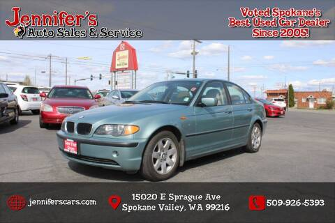 2003 BMW 3 Series for sale at Jennifer's Auto Sales in Spokane Valley WA