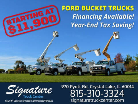 2009 Ford F350-F750 for sale at Signature Truck Center in Crystal Lake IL