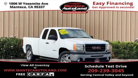 2012 GMC Sierra 1500 for sale at Manteca Auto Land in Manteca CA