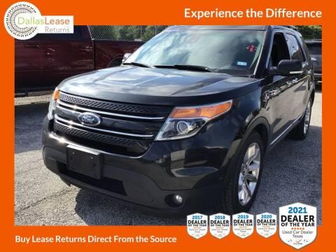 2014 Ford Explorer for sale at Dallas Auto Finance in Dallas TX