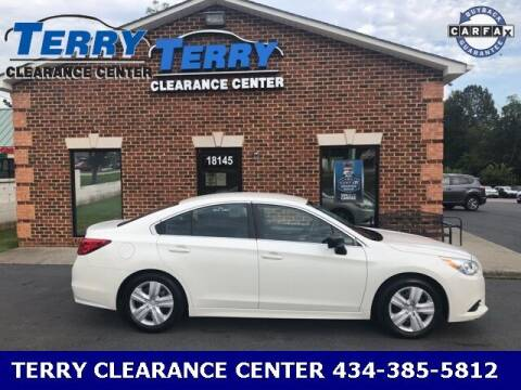 2017 Subaru Legacy for sale at Terry Clearance Center in Lynchburg VA