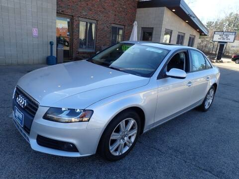 2010 Audi A4 for sale at S & J Motor Co Inc. in Merrimack NH