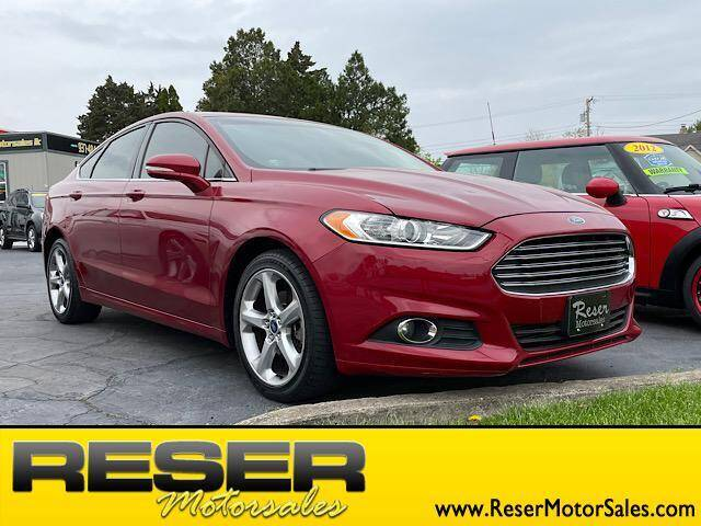 2014 Ford Fusion for sale at Reser Motorsales in Urbana OH