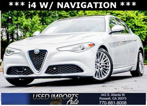 2017 Alfa Romeo Giulia for sale at Used Imports Auto in Roswell GA