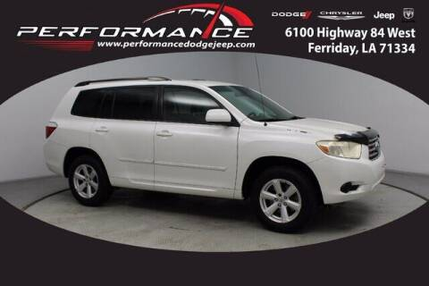 2008 Toyota Highlander for sale at Performance Dodge Chrysler Jeep in Ferriday LA