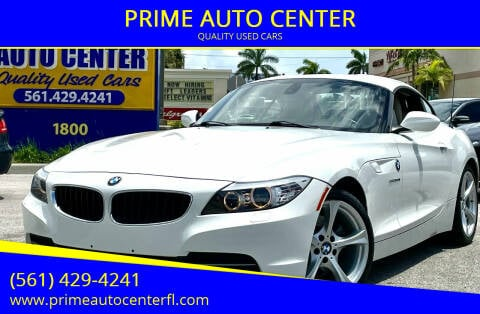 2011 BMW Z4 for sale at PRIME AUTO CENTER in Palm Springs FL